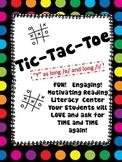 "TIC-TAC-TOE  ""Y"" as long /i/ and long /e/"
