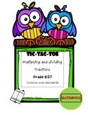 TIC TAC TOE fractions operations
