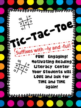 TIC TAC TOE with Suffixes