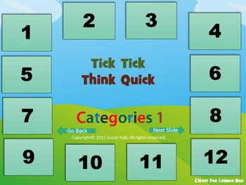 Addition Subtraction and Early Learning Vocabulary PowerPoint Game Bundle