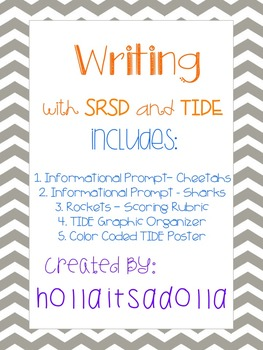 Informational Writing Prompt - TIDE