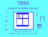TIDEO #9 in Songs for the Kodaly Classroom