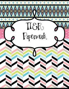 TIER/RTI BINDER COVER