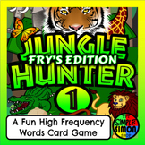 JUNGLE HUNTER (Fry's words set 1) - A Fun High Frequency S