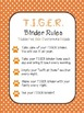 TIGER Binder Cover and Rules