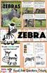 All About Zebras Nonfiction Unit