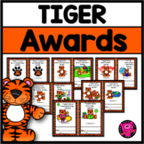 Tiger Themed End of the Year Awards and Superlatives