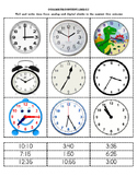 TIME - 5 Minute Intervals