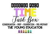 TIME BOOSTER PACK - KINDERGARTEN PREP PRE-PRIMARY PACK 1/4