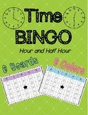 TIME Bingo! (hour and half hour)