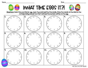 TIME EGG HUNT!!