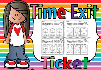 TIME EXIT TICKET (FREE)