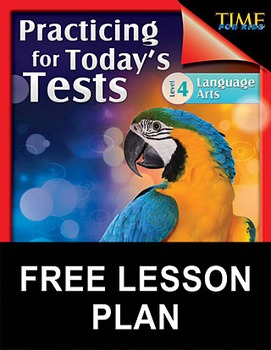 TIME FOR KIDS®: Language Arts Test Preparation Level 4--Li