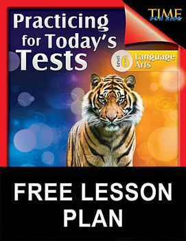 TIME FOR KIDS®: Language Arts Test Preparation Level 6--Dinos for Dinner