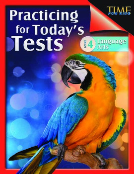TIME FOR KIDS®: Practicing for Today's Tests: Language Arts Grade 4 (eBook)