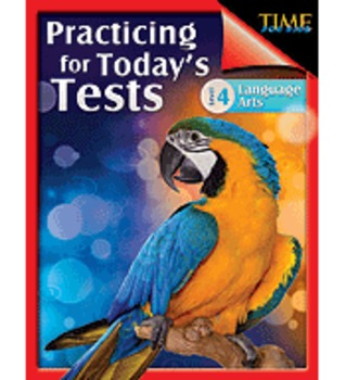 TIME For Kids: Practicing for Today's Tests Language Arts  Level 4