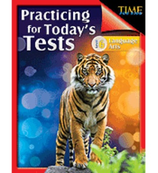 TIME For Kids: Practicing for Today's Tests Language Arts Level 6