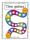 TIME GAMES - Telling Time