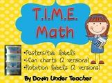 T.I.M.E. Guided Math set-up