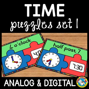 TELLING TIME ACTIVITIES (TIME TO THE HOUR AND HALF HOUR CENTER)
