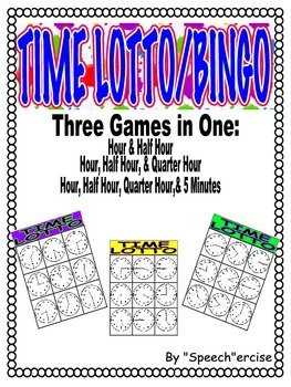 TIME LOTTO/ BINGO GAME