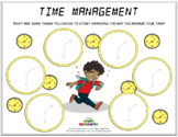 TIME MANAGEMENT (Fillable)