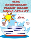 TIME MANAGEMENT DESERT ISLAND GROUP ACTIVITY