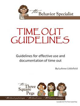 TIME OUT GUIDELINES
