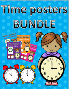 TIME POSTERS BUNDLE