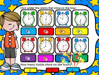 TIME POWERPOINT GAME