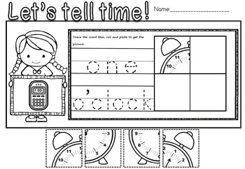 TIME PUZZLE (FREE SAMPLE)