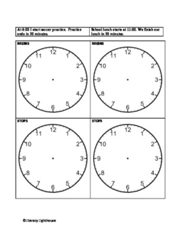 TIME - TELLING TIME