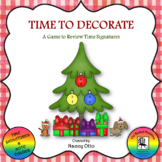 Time to Decorate - A Game to Review Time Signatures