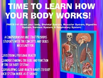 THE HUMAN BODY SYSTEMS UNIT: PARTS I-VI
