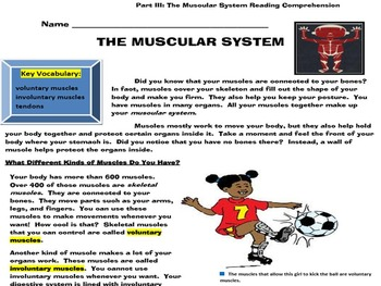 THE HUMAN BODY SYSTEMS UNIT: PARTS I-III