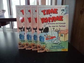 TIME TO RHYME       (SET OF 4)
