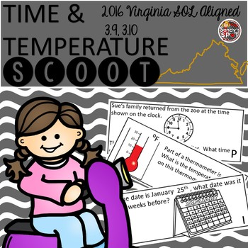 TIME and TEMPERATURE SCOOT Grade 3 Virginia SOL 3.11, 3.12, 3.13
