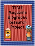 TIME biography research project
