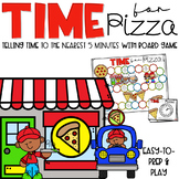 TIME for PIZZA! Telling time to the nearest 5 minutes