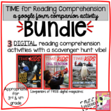 TIME for Reading Comprehension BUNDLE: Google Form Compani