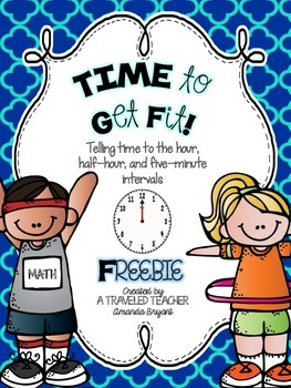 Math FREEBIE! TIME to Get Fit!