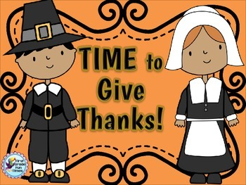 Thanksgiving Math Telling Time