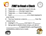TIME to Read a Clock