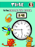 TIME to the Quarter Hour MATH STATIONS
