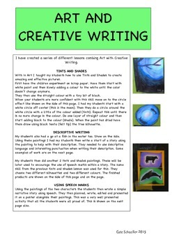 TINTS AND SHADES - with writing lessons