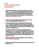 READING STREET ENCANTADO 4th grade comprehension questions QAR