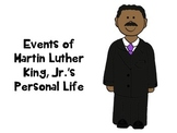 Timeline of Martin Luther King's Life