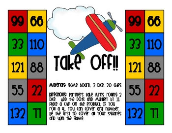 TImes Tables x11 - Take Off!