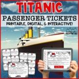 TItanic Passenger Tickets