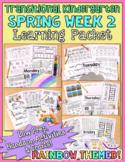TK Distance Learning Packet: Spring - Rain & Rainbows Theme - Week 2